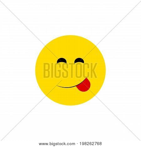 Delicious Food Vector Element Can Be Used For Savoring, Delicious, Food Design Concept.  Isolated Savoring Flat Icon.