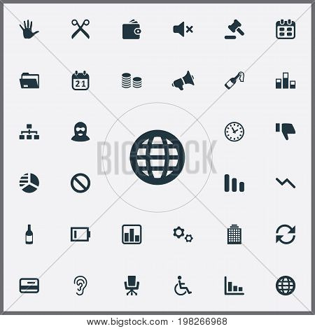 Elements Line Chart , Celebrate, Handicapped Man Synonyms Wine, Disabled And Champion.  Vector Illustration Set Of Simple Trouble Icons.