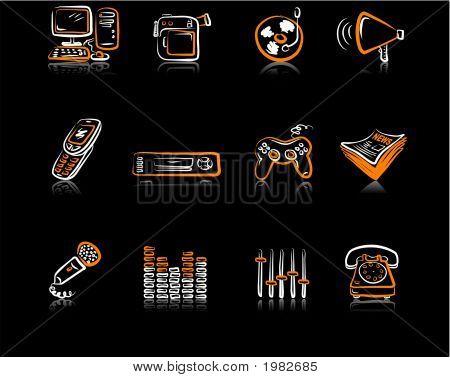 Media 3 Black & Orange Black.Eps
