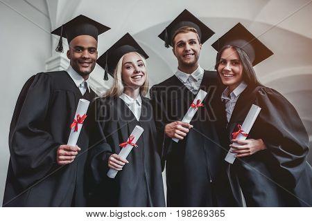 Graduates In University