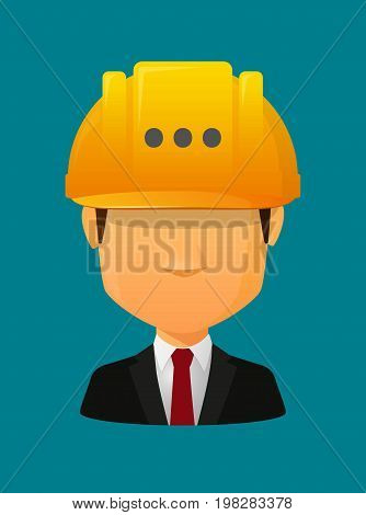 Worker Avatar With  An Ellipsis Orthographic Sign