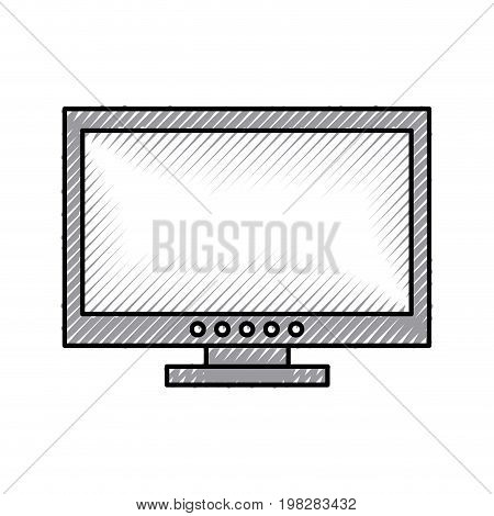 tv plasma isolated icon vector illustration design