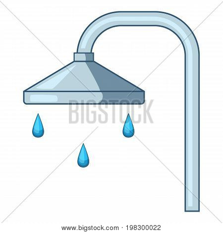 Shower icon. Cartoon illustration of shower vector icon for web design