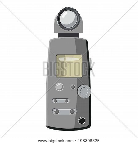 Light meter icon. Cartoon illustration of light meter vector icon for web design