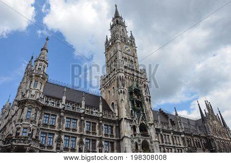 Munich New Town Hall , Munich, Germany