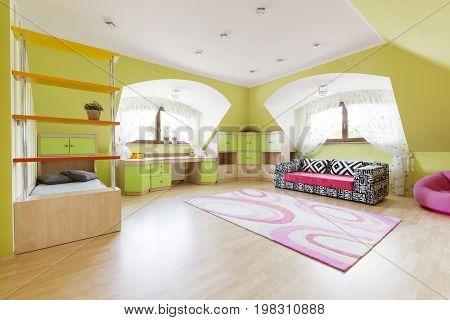 Room Designed With Fantasy