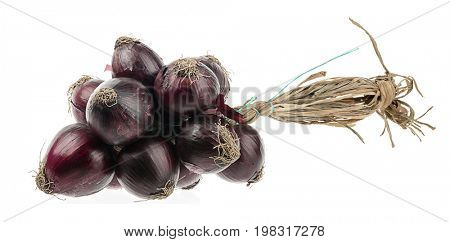Bunch of Onions Isolated