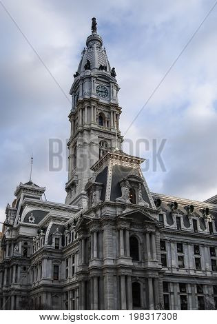 Philadelphia City Hall, Philadelphia, Pennsylvania, USA, building