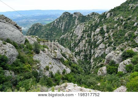 Montserrat's Mountains place of interest in Barcelona Spain