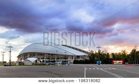 Fisht Olympic Stadium In Sochi, Adler, Russia