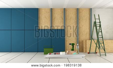 Renovation And Nsulation Of An Old Room