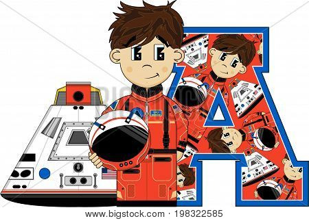 A Is For Astronaut 23