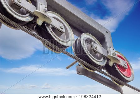 Cable And Sheave Wheels, Cable Catcher
