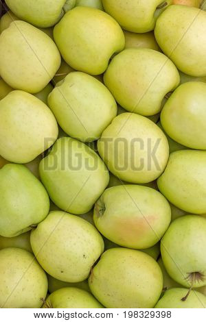 Farmers Market Apples Background