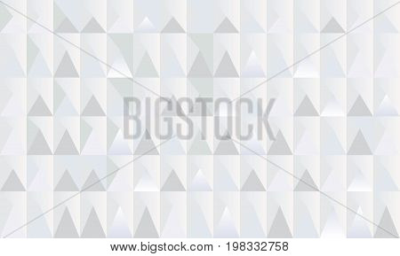 Placard with abstract geometric triangle shapes, diamond geometric 3d seamless design, fractal lights, polygonal elements paper vector. Rhombus texture pattern, High tech business background.