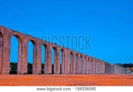 Aqueduct Of Obidos