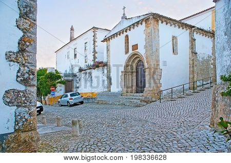 St Martin's Chapel In Obidos