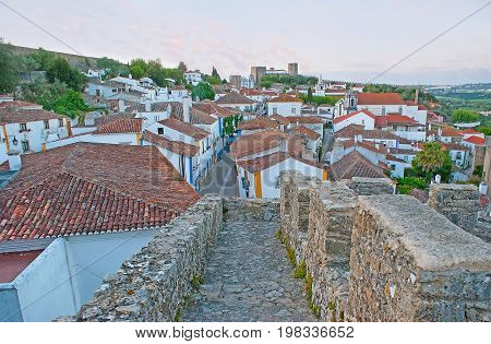 The Fortress Of Obidos