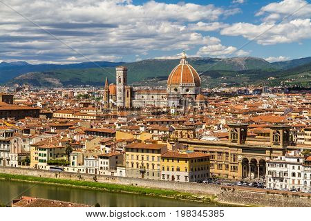 View Of Florence, Italy.