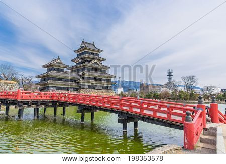 Matsumoto Castle Or Crow Castle