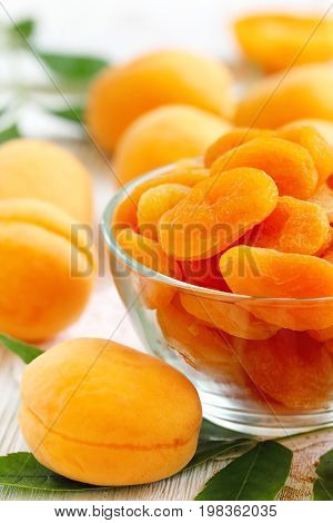 Sweet Dried Fruit. Dried Apricots.