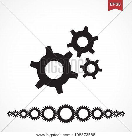 Standard Gear Vector Icon