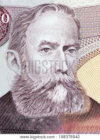 Rafael Nunez Moledo portrait from Colombian money