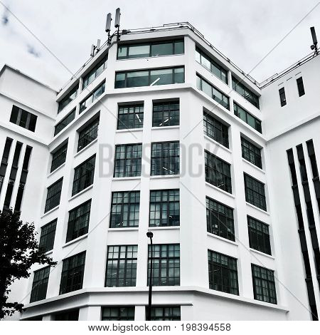White Big Office Building