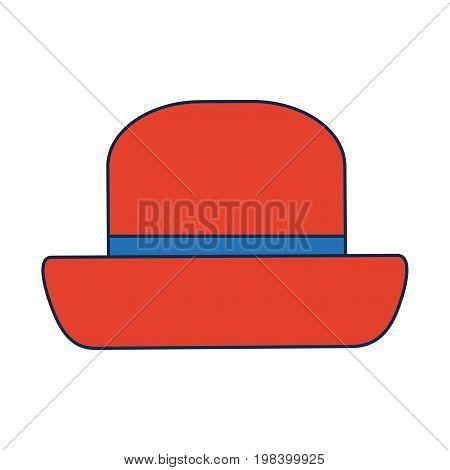 vintage top hat male head old fashion clothes elegant