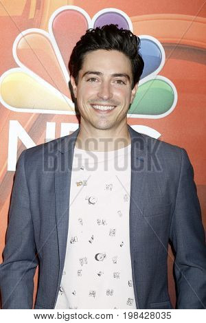 LOS ANGELES - AUG 3:  Ben Feldman at the NBC TCA Press Day Summer 2017 at the Beverly Hilton Hotel on August 3, 2017 in Beverly Hills, CA