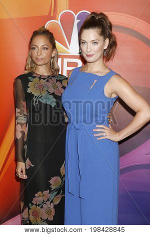 LOS ANGELES - AUG 3:  Nicole Richie, Briga Heelan at the NBC TCA Press Day Summer 2017 at the Beverly Hilton Hotel on August 3, 2017 in Beverly Hills, CA