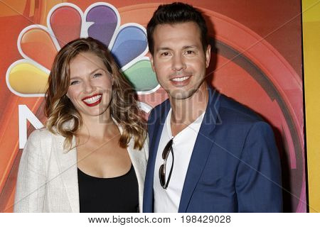 LOS ANGELES - AUG 3:  Tracy Spiridakos, Jon Seda at the NBC TCA Press Day Summer 2017 at the Beverly Hilton Hotel on August 3, 2017 in Beverly Hills, CA