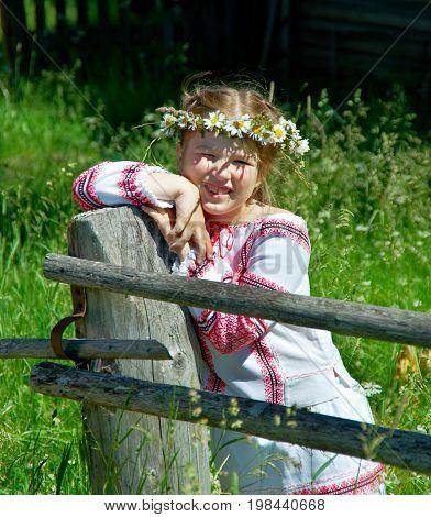 Little Slavic  Girl