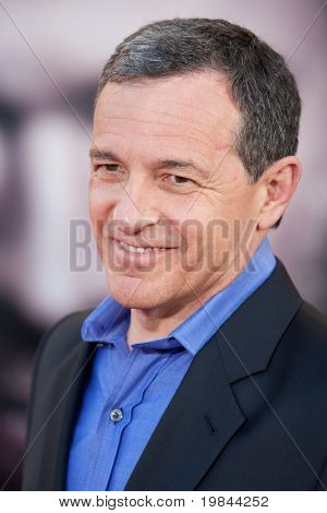 HOLLYWOOD, CA. - MAY 2: Robert Iger president and CEO of Walt Disney arrives at the Los Angeles premiere of Thor at the El Capitan Theatre on May 2, 2011 in Hollywood, California.