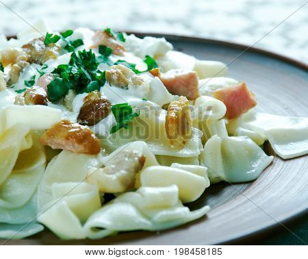 Hungarian  Cheese Noodle