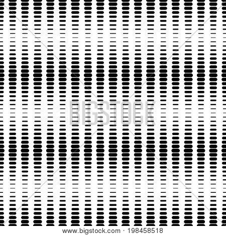 Seamless halftone dots pattern geo geometric background screen print texture black and white vector graphic seamless fabric print seamless halftone background digital technology background