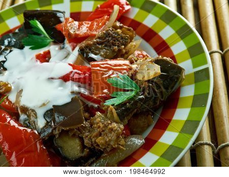 Spicy Braised Eggplant