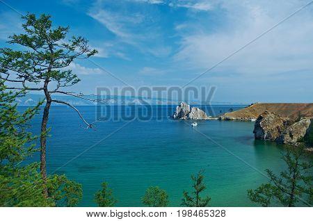 Rock Shamanka At Headland Burhan