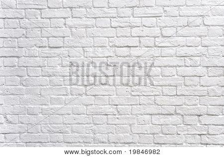 Eine weiße Mauer