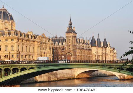 The Conciergerie in Paris