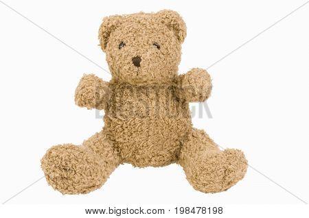 Teddy bear vitnage color image selective focus horizontal image
