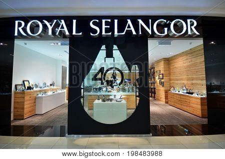 Royal Selangor Shop Located In Kota Kinabalu, Sabah