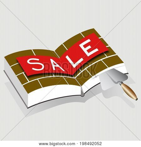 Sale of building materials, discount on goods, markdowns