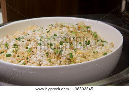 crab meat fried rice Kao Pad Poo (Classic Thai Fried Rice)