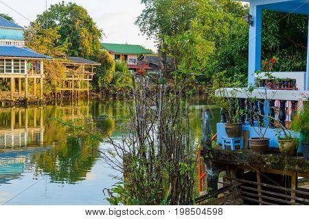 Chang Town, Chanthaburi, Waterfront, Thailand