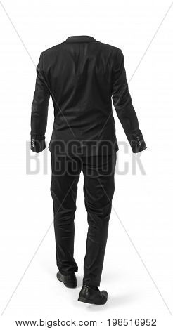 A hollow costume isolated on a white background