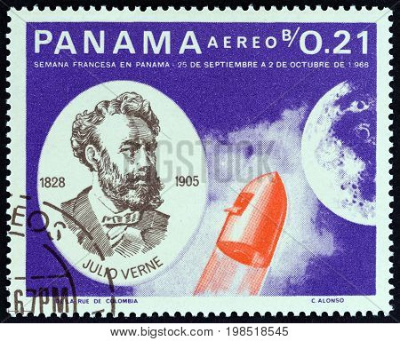 PANAMA - CIRCA 1966: A stamp printed in Panama from the