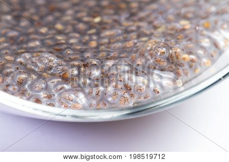 Wet Chia Seeds