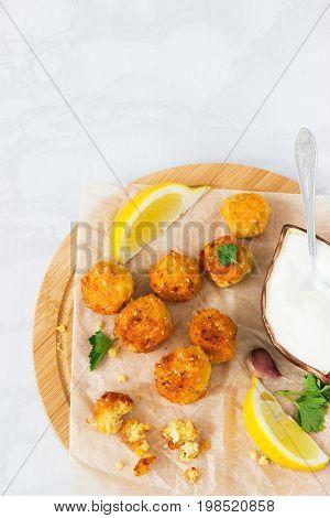 Falafel Dish Cutting Board