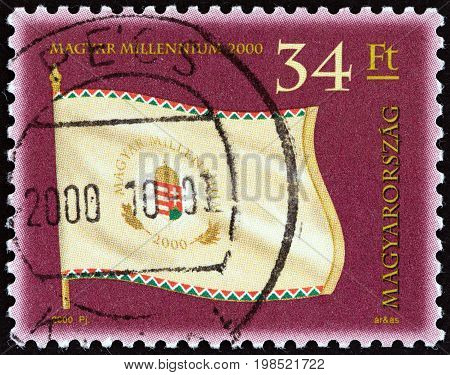 HUNGARY - CIRCA 2000: A stamp printed in Hungary from the